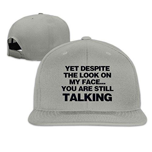 yet-despite-look-on-my-face-snapback-caps-flat-bill-baseball-hats