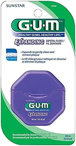 Dental Floss: Gum Expanding