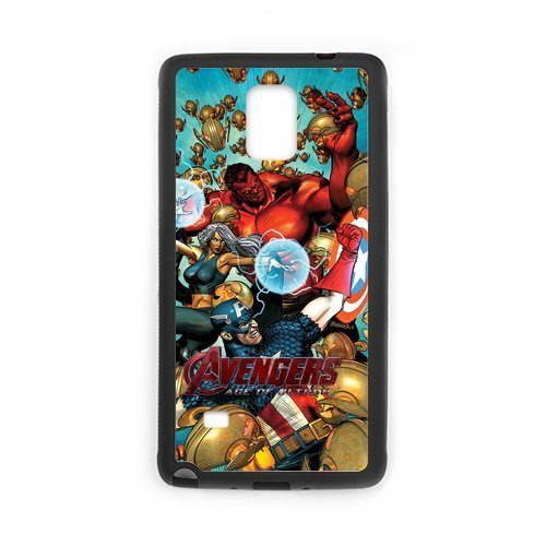 Fayruz- Personalized Marvel's The Avengers Protective Hard Rubber Phone Case for Samsung Galaxy Note 4 Note4 Cover I-N4O936