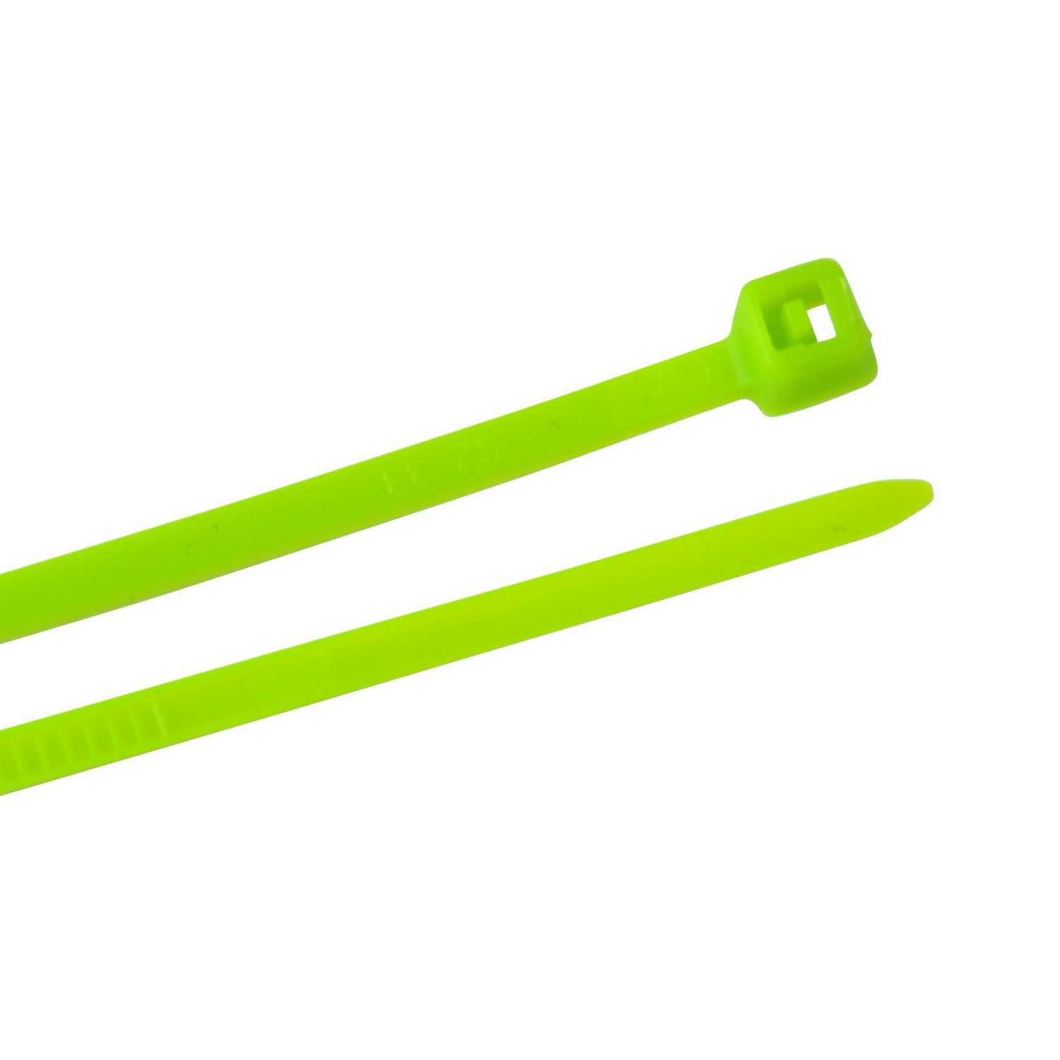 Creative Solutions CS-108G Cable Tie, 8 in, 18 lb, Craft, Wrap & Decorate, Zip Tie, 25 Pk., Green