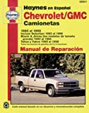 reparacion de motores - Chevrolet Pick-Up, 1988-1998: Spanish Edition (Haynes Repair Manuals)