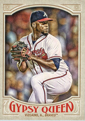 2016 Topps Gypsy Queen Baseball #197 Arodys Vizcaino Atlanta Braves