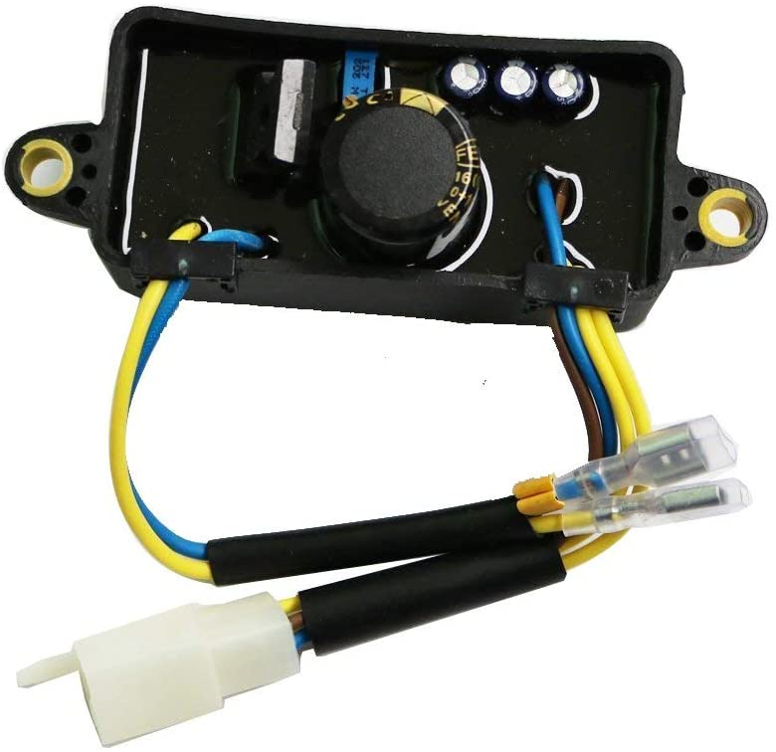 J2XCO AVR Automatic Voltage Regulator for Harbor Freight Predator 30060-Y025110 Gasoline Generator