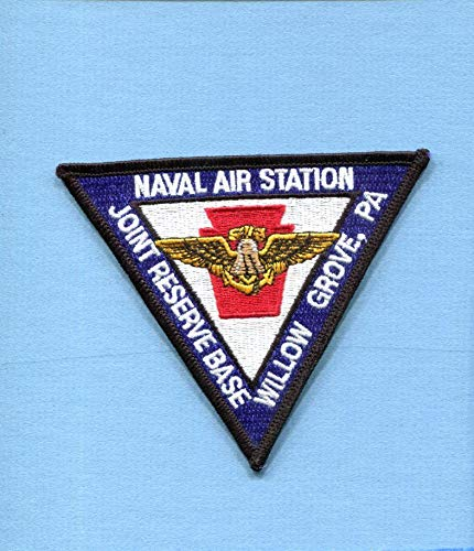 Embroidered Patch-Patches for Women Man- NAS Naval AIR Station JRB Willow Grove Joint Reserve Base