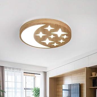 LED 54W Deckenleuchte Dimmbar Deckenlampe Wohnzimmer Leuchte Fernsteuerung Flur