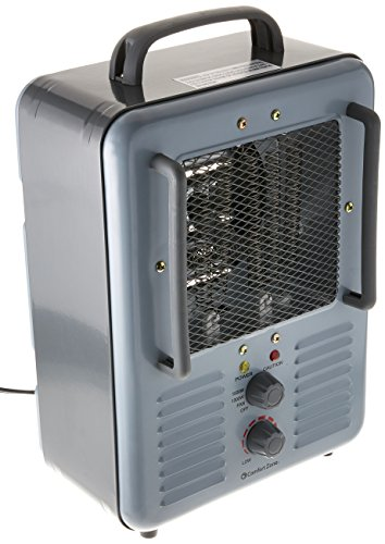 Patton Electric Thermostat Heater - Comfort Zone CZ798 5120 BTU Multi-Purpose Utility Heater Fan