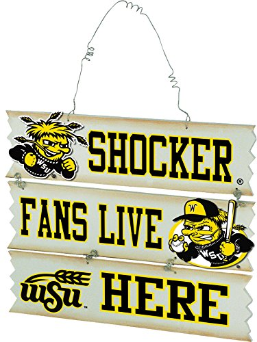 Wichita State University  Hanging Fan Sign