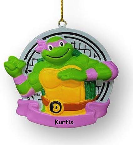 Amazon.com: Kurt Adler Personalized Nickelodeon Teenage ...