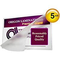 Hot 5 Mil Credit Card Laminating Pouches 2-1/8 X 3-3/8 [Pkg of 500] Clear