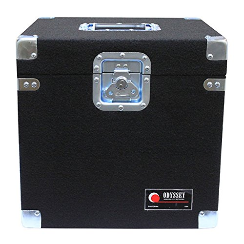 Odyssey CLP100P Carpeted Pro Lp Case With Recessed Hardware For 100 Vinyl Lp's