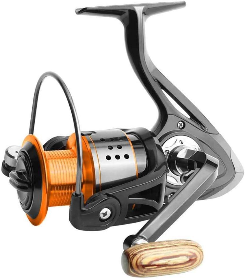 Spinning Carretes 13 + 1 eje artes de pesca Sin Gap Carrete de ...
