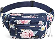 CXWMZY Waist Pack Bag Fanny Pack for Men&Women Hip Bum Bag with Large Capacity Waterproof Adjustable Strap