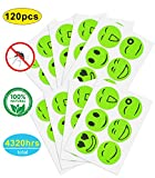 120 Pcs Mosquito Repellent Patches, Non-Toxic, Safe for Kids and Adults