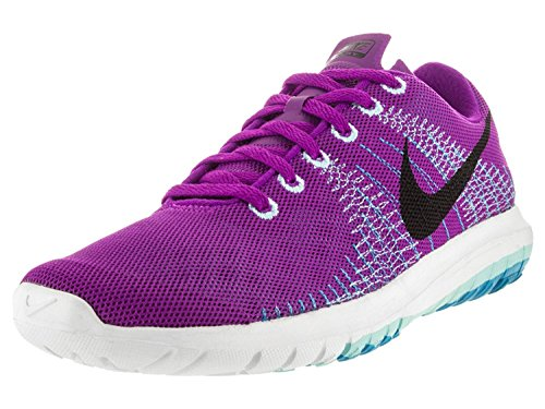 Nike Womens Flex Fury Running Shoes, Vivid Purple/Black/Copa/Bl Lgn, 37.5 B(M) EU/4 B(M) UK