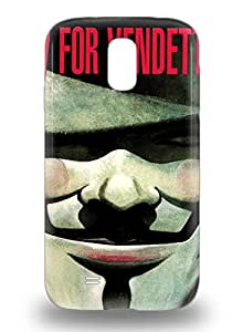 Awesome 3D PC Case Cover Galaxy S4 Defender 3D PC Case Cover American V For Vendetta Action Drama Sci Fi Thriller ( Custom Picture iPhone 6, iPhone 6 PLUS, iPhone 5, iPhone 5S, iPhone 5C, iPhone 4, iPhone 4S,Galaxy S6,Galaxy S5,Galaxy S4,Galaxy S3,Note 3,iPad Mini-Mini 2,iPad Air )