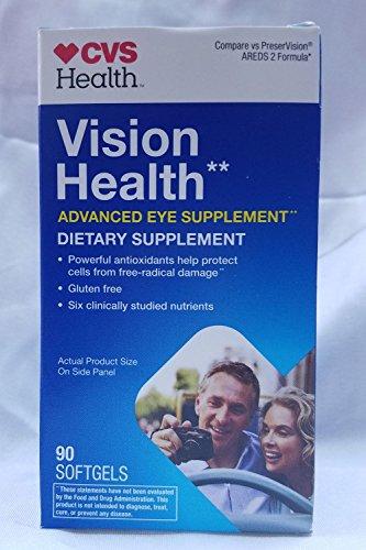 CVS Health Vision Health Advanced Eye Supplement, 90CT