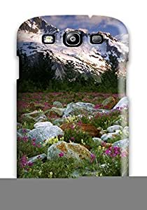 New Arrival Case Cover With AFrggie9127QwRfn Design For Galaxy S3- Landscape
