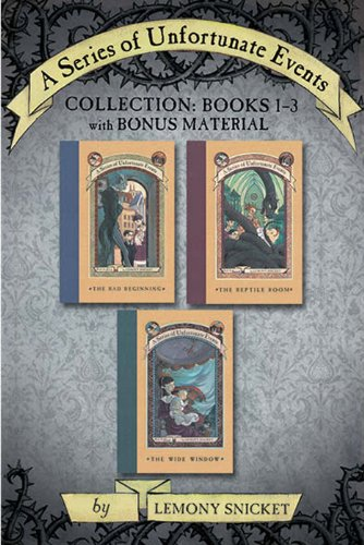 (A Series of Unfortunate Events Collection: Books 1-3 with Bonus Material (A Series of Unfortunate Events Boxset Book 1))