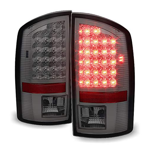 ACANII - For Smoked 2002-2006 Dodge Ram 1500 LED Tail Lights Lamps Left+Right 02 03 04 05 06