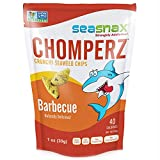SeaSnax, Chomperz, Crunchy Seaweed Chips, Barbecue, 1 oz(Pack of 3)