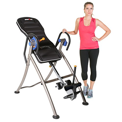 Ironman iControl 600 Weight Extended Disk Brake System Inversion Table with Air Tech Backrest by IRONMAN