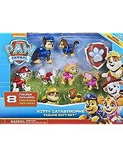 PAW Patrol Kitty katastrof presentset med 8 samlarfigurer för barn i åldern 3 och uppåt