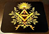 masonry emblems - ONLY1 one on AMAZON: NEW MASONIC MASON MOUSE PAD MOUSEPAD,LARGE,EXC QUALITY Blue Lodge NEW, Masonic Logo Mason, Freemason Freemasons Free Mason Masons Masonic Masonry Freemasonry Past Masters' Emblem Shriner,york Scottish Rite, ,Grotto,movper, Craft Lodge Entered Apprentice Fellowcraft Master Rose Croix Lodge Perfection, Commandery Knights Templar