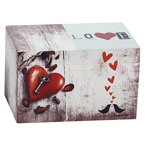 Hosley Wooden Storage Box, 6