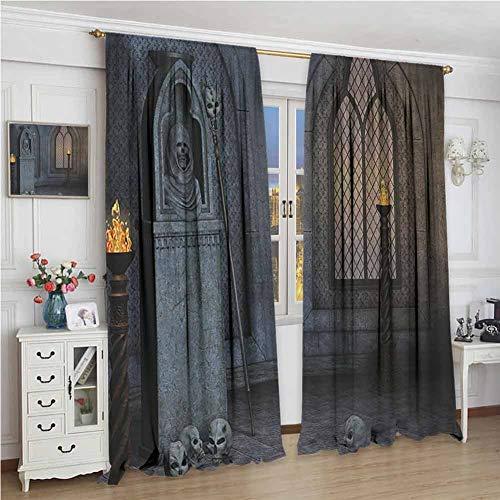 Gothic Decor Collection Premium Blackout Curtains Gothic