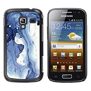 "Pulsar Snap-on Series Teléfono Carcasa Funda Case Caso para Samsung Galaxy Ace 2 , Abstracto azul Invierno Hielo Lago Líquido Agua"""