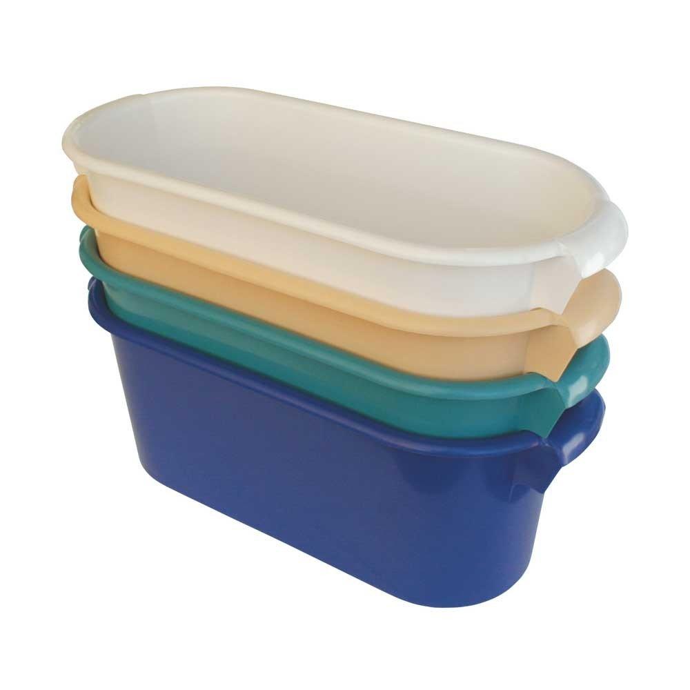 1x Behrend Armbadewanne Armwanne Wanne Waschschüssel, Polyethylen, 57x24x23cm, blau WILLY BEHREND