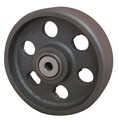 4 inch cast iron casters - 7