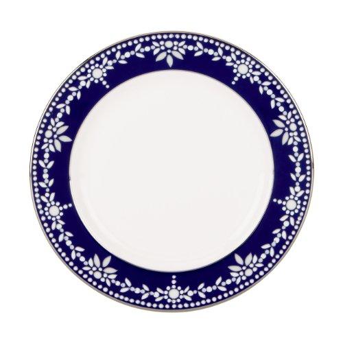 Lenox Marchesa Couture Butter Plate, Empire Pearl Indigo