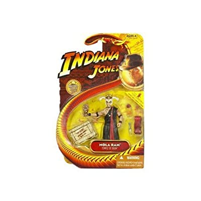 Indiana Jones Movie Hasbro Series 4 Action Figure Mola Ram (Temple of Doom): Toys & Games