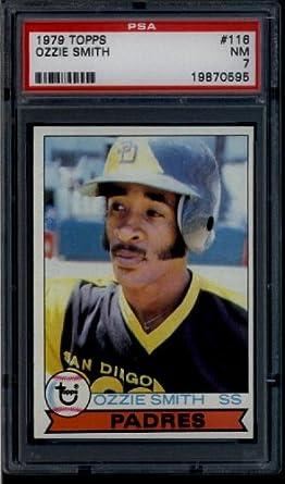 Amazoncom 1979 Topps 116 Ozzie Smith Rookie Card