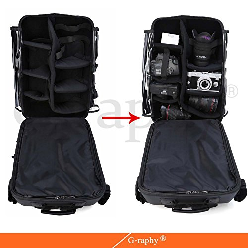 d1746e4559 60%OFF G-raphy Waterproof Hardshell Camera Backpack 17
