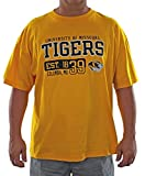 Missouri University Adult Yellow T-shirt (Adult XXL)