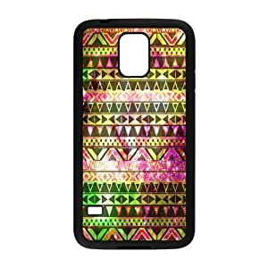 VNCASE Aztec Tribal Phone Case For Samsung Galaxy S5 i9600 [Pattern-1] by icecream design