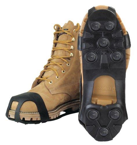 Caminata De Invierno - Jd3500-xl - Clavos De Goma Para Hombres, Negro, Talla 12-1 / 2 A 14-1 / 2