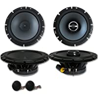 Brand New Alpine Package 6.5 2-way Car Component system + 6-1/2 2-way Car Coaxial Speakers