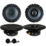 Alpine Package 6.5' 2-Way Car Component System + 6-1/2' 2-Way Car Coaxial Speakers