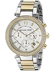Michael Kors Womens Parker Two-Tone Watch MK5626