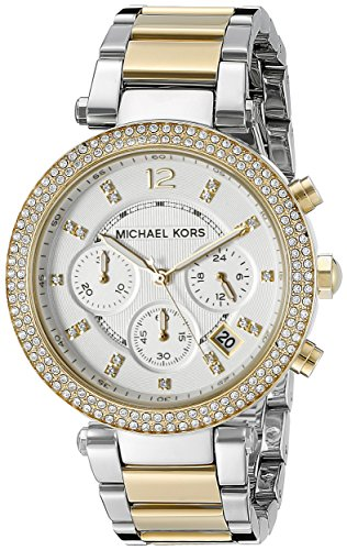 Michael Kors Women's Parker Two-Tone Watch MK5626 ()
