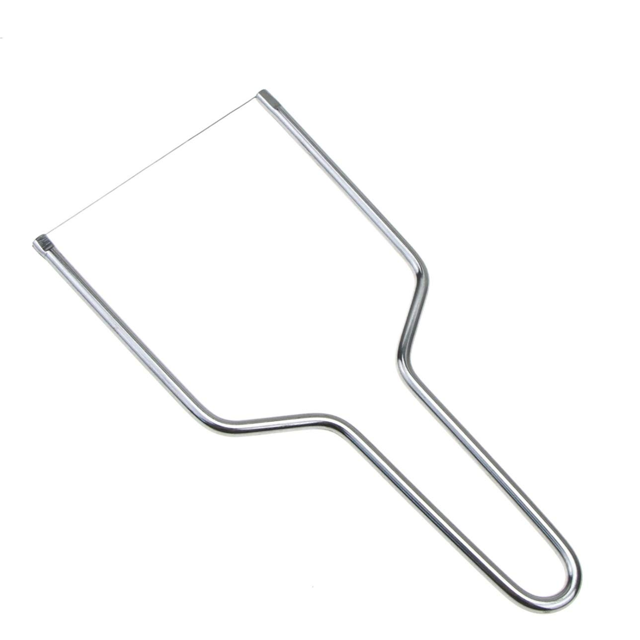 ZXT-parts Cheese Slicer, Stainless Steel Cheese Slicers with Wire, Handheld Butter Cutter Tools for Soft Hard Block Cheese, Kitchen Tools Knives. by ZXT-parts