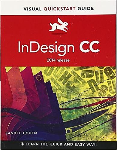 Quick Start Adobe InDesign CC