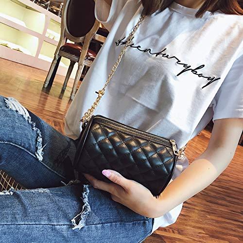 ZSBBshop Taschen Sommer-Mini-Minitasche, weiblich, Rhombus-Kettentasche, koreanische Version, Handtasche, schräge Tasche, Tasche, Tasche, Persönlichkeitszylinderpaket. B07K565V8Q Wanderruckscke Haltbarkeit 287979