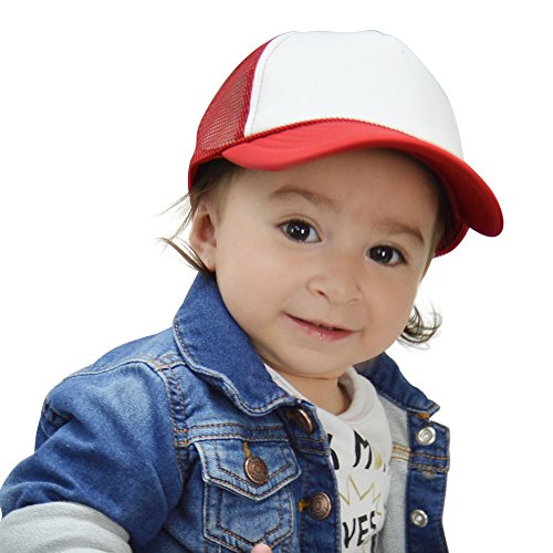 DALIX Baby Girls Boys Toddler Cap Trucker Hat Caps Childrens Infant Kids Hats