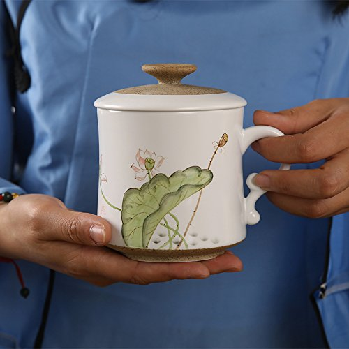 XDOBO Porcelain Hand-painted Lotus Teacu - Hand Painted Porcelain Teacup Shopping Results