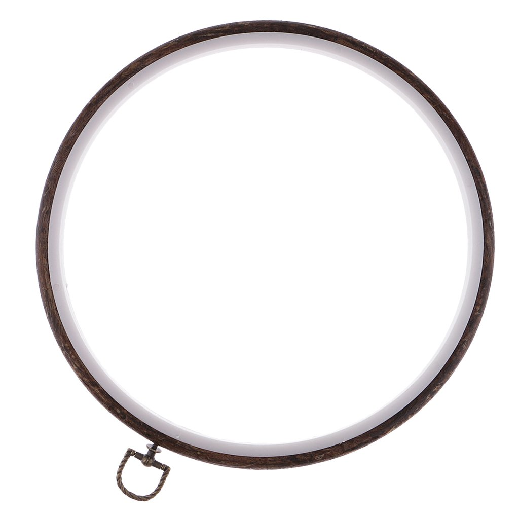 perfk Holz Stickring Stickrahmen Kreuzstich Rahmen Kreuz Stitch Hoop Ring f/ür Stickerei Handwerk 11CM