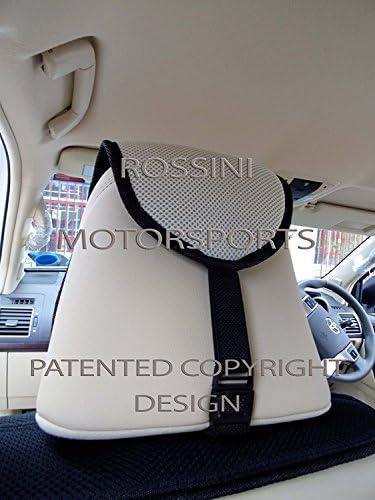 SEAT COVERS BO 4 ROSSINI MESH SPORTS BEIGE BLACK TO FIT A HYUNDAI i800 CAR
